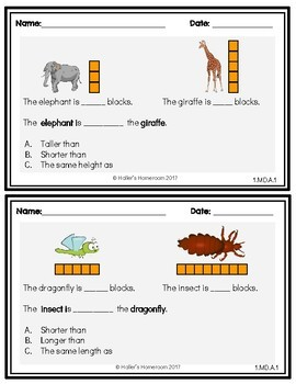 1st Grade NWEA MAP Math Practice Questions [RIT 161-178]