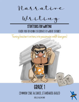 Story Narrative Writing 1st Grade Common Core  Writing Lady Shelle Allen