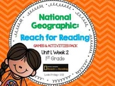 1st Grade National Geographic: Reach for Reading Games (Unit 1, Week 2)
