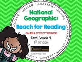 1st Grade National Geographic: Reach for Reading Games (Unit 1, Week 4)