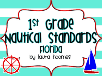1st Grade Nautical Standards FLORIDA