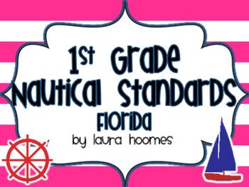 1st Grade Nautical Standards FLORIDA set 3