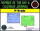 1st Grade Number of the Day & Calendar Journal--TEKS Based