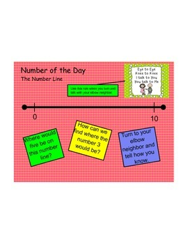 Ohio Common Core 1st Grade Numeracy Board First Quarter, Second Week