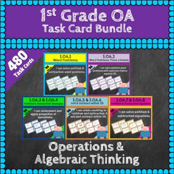 1st Grade OA Math Bundle: OA Curriculum, 1st Grade Math MEGA Bundle