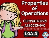 Properties of Operations Math Tasks and Exit Tickets
