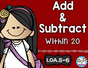 Addition and Subtraction Math Tasks and Exit Tickets