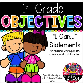 1st Grade Objectives (Aligned to Virginia SOLs)