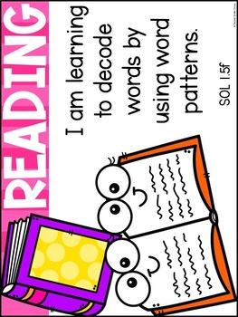1st Grade Objectives (Aligned to Virginia SOLs)