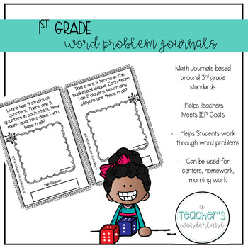 1st Grade October Math Word Problems