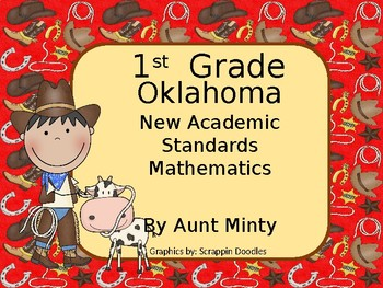 2017-2018 1st Grade Oklahoma Math Academic Standards and Objectives, Cowboy
