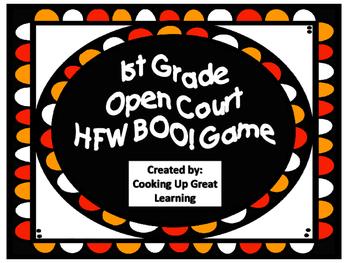 1st Grade Open Court Halloween BOO! game