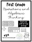 1st Grade Operations and Algebraic Thinking Pack