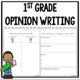 Opinion Writing Topics, Graphic Organizers, and Rubrics