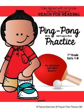 1st Gr PING-PONG HFW PRACTICE Aligned with NATIONAL GEOGRAPHIC REACH for READING