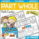 1st Grade Addition Bar Model Math Center