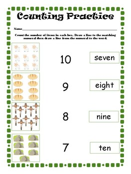 1st Grade Passover Pack Color
