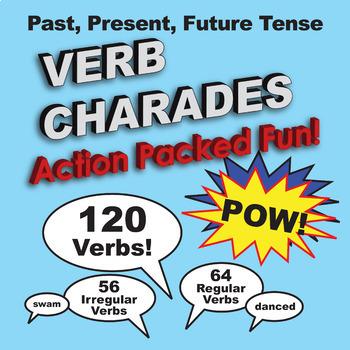 1st Grade: Past, Present, Future Tense Verb Charades