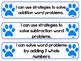 1st Grade Paw Print Standards COMMON CORE Georgia