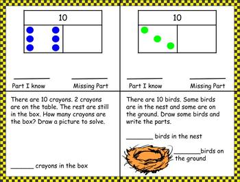 1st Grade Pearson Envision Math Exit Tickets Topic 3