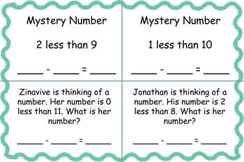 1st Grade Pearson Envision Math Exit Tickets Topic 4