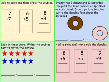 1st Grade Pearson Envision Math Exit Tickets Topic 5