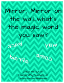 1st Grade Pearson Mirror Words