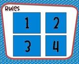 1st Grade Peer Literacy Strategies (PALS) Games 2-5