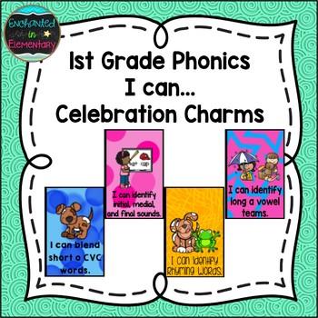 1st Grade Phonics I can...Brag Tags
