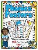 1st Grade Phonics Posters {Journey's 1st Grade Units 1-6 S
