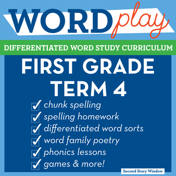 1st Grade Phonics and Chunk Spelling Curriculum Term 4