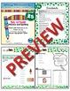1st Grade Phonics and Spelling D'Nealian Week 25 (au, aw, -ed, -ing)