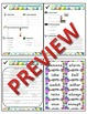 1st Grade Phonics and Spelling D'Nealian Week 27 (schwa a, ä, ei)