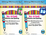 BUNDLE: 1st Grade Phonics and Spelling D'Nealian (Weeks 19