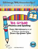 1st Grade Phonics and Spelling D'Nealian Week 22 (er, ir, ur)