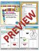 1st Grade Phonics and Spelling D'Nealian Week 3 (short i, l, x, -s)
