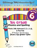 1st Grade Phonics and Spelling D'Nealian Week 6 (short a,
