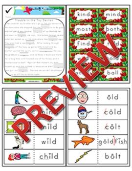 1st Grade Phonics and Spelling Zaner-Bloser Week 28 (Wild Colt Words)