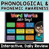 1st Grade Phonological,  Phonemic Awareness & Phonics Digi