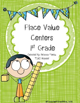 Place Value Centers for 1st Grade