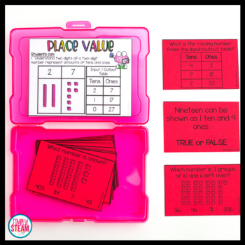 Place Value Game Tens and Ones