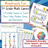 1st Grade Place Value Math Games