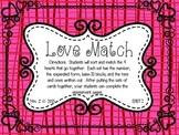 Valentine's Place Value Math Tub