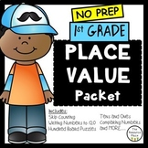1st Grade Place Value Packet!