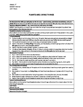 1st Grade Plants Unit: Lesson Plans, Journal Assignments, and Assessment