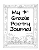 1st Grade Poetry Journal-correlates with FL (National) Treasures