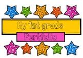 1st Grade Portfolio Cover