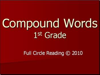1st Grade PowerPoint - Compound Words