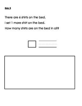 1st Grade Problem Solving Packet