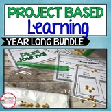 1st Grade Project Based Learning Year Long Bundle